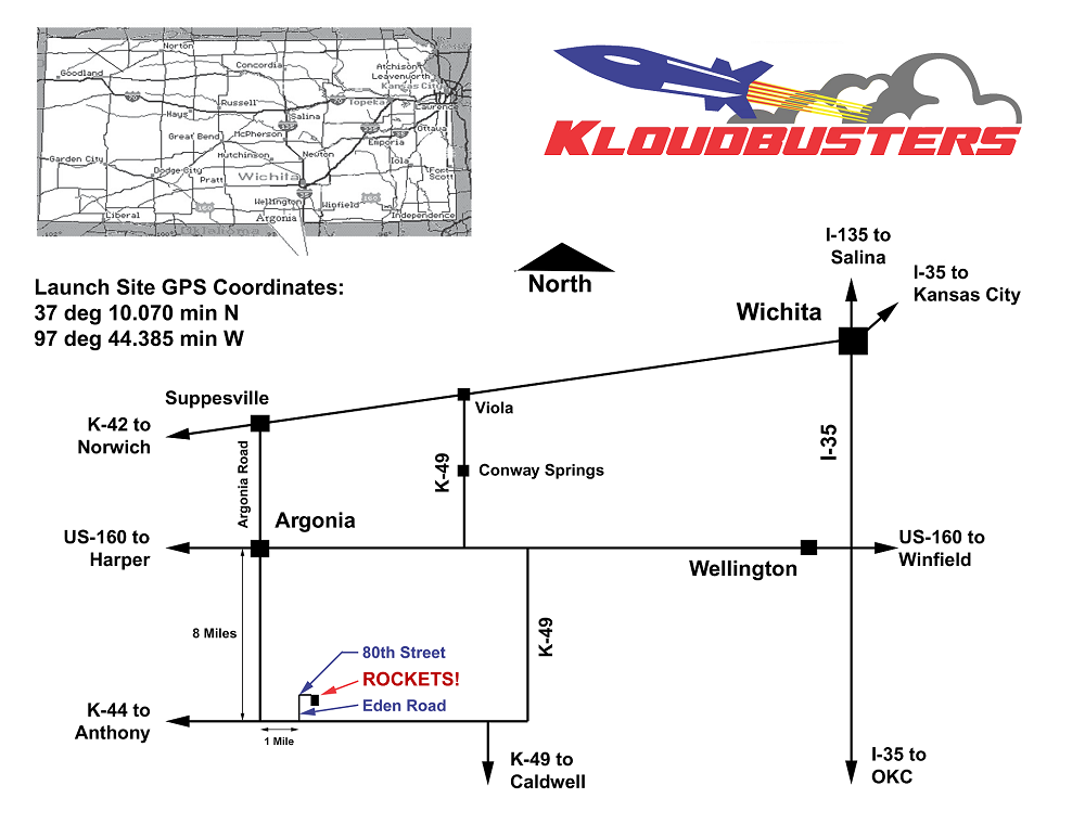 Launch Site Map
